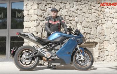 Test de la Zero SR/S électrique :: Sport-touring