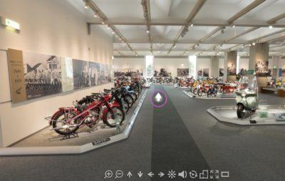 Les musées moto que l'on peut voir virtuellement :: Visite à distance