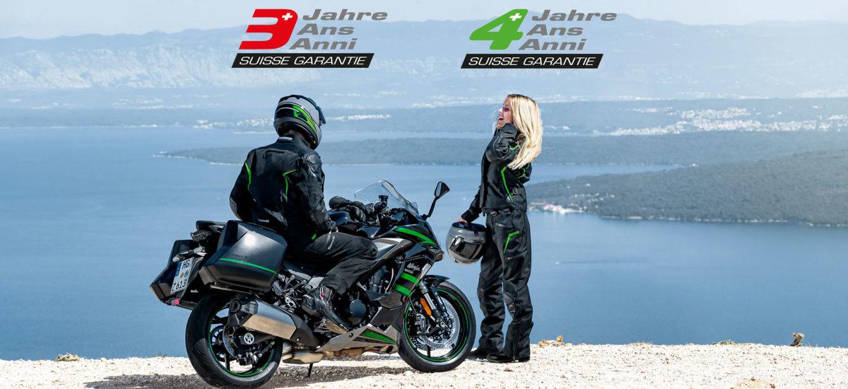 Kawasaki Suisse prolonge de deux mois sa garantie d'usine