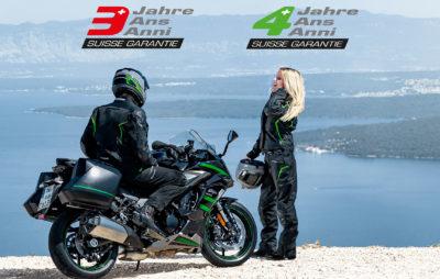 Kawasaki Suisse prolonge de deux mois sa garantie d'usine :: COVID-19