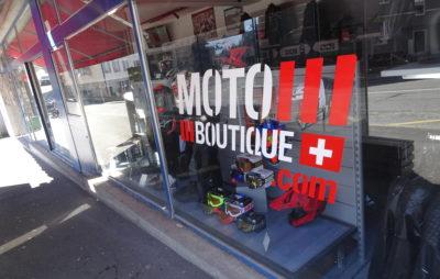 Chez Moto Boutique à Lausanne, on livre toujours :: Equipements moto