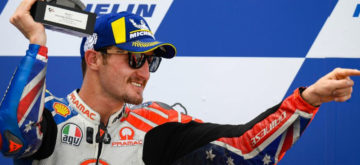 Jack Miller sera pilote officiel Ducati en 2021