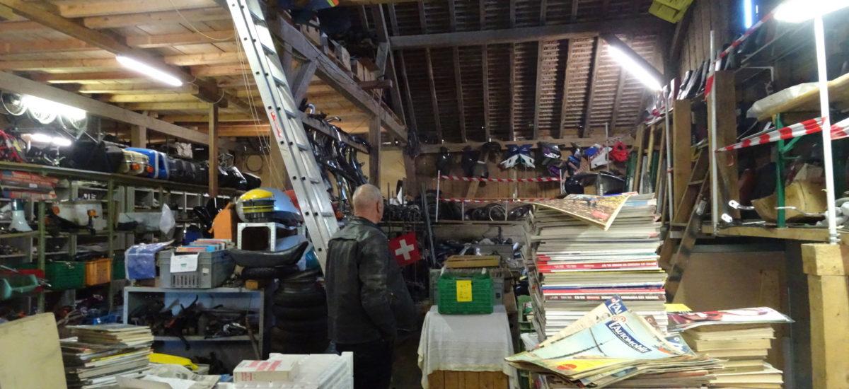 M'sieu Bôôf vend 50 ans de stock deux-roues