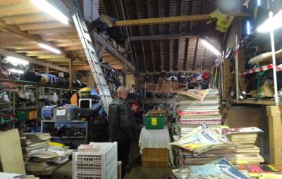M'sieu Bôôf vend 50 ans de stock deux-roues :: Vente pièces et matériel