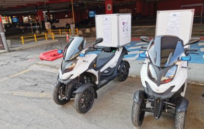 Des Qooder à 4 roues pour sauver des vies à Paris :: Actu