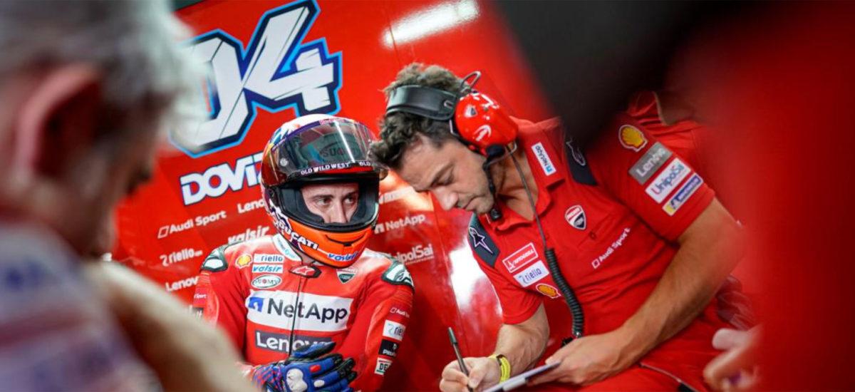 Andrea Dovizioso se fracture la clavicule en motocross!