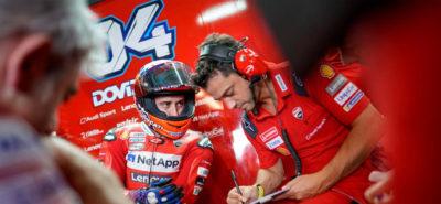 Andrea Dovizioso se fracture la clavicule en motocross! :: MotoGP