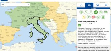 Où peut-on rouler en Europe après le 15 juin?