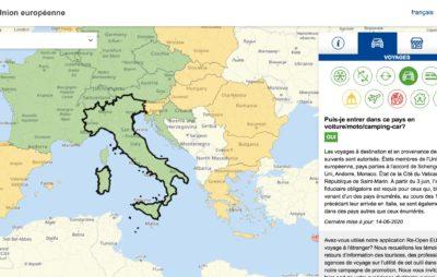 Où peut-on rouler en Europe après le 15 juin? :: Coronavirus