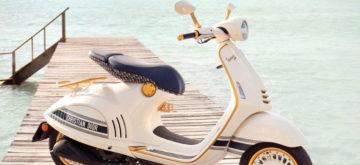 Vespa 946 Christian Dior: elle vise l'excellence esthétique!