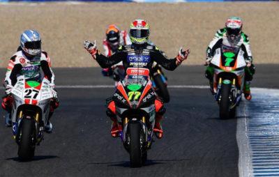Dominique Aegerter gagne son premier GP électrique! :: MotoE Andalousie