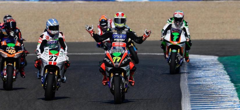 Dominique Aegerter gagne son premier GP électrique! :: MotoE Andalousie :: ActuMoto