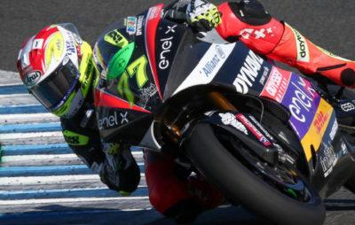 Splendide pole position de Dominique Aegerter! :: MotoE Andalousie