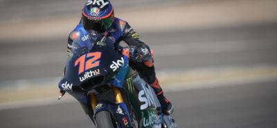 Marco Bezzecchi en pole position, sa première! Thomas Lüthi en 3e ligne :: Moto2 Andalousie