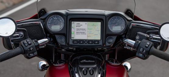 Apple CarPlay disponible sur les Indian de touring