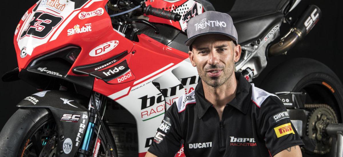 Marco Melandri fait son retour en Superbike avec le Ducati Barni Racing Team