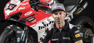Marco Melandri fait son retour en Superbike avec le Ducati Barni Racing Team :: Mercato WorldSBK