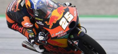 Raul Fernandez réussit sa deuxième «pole» de rang :: Moto3 Autriche