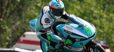 Première splendide victoire de Dennis Foggia :: Moto3 Brno