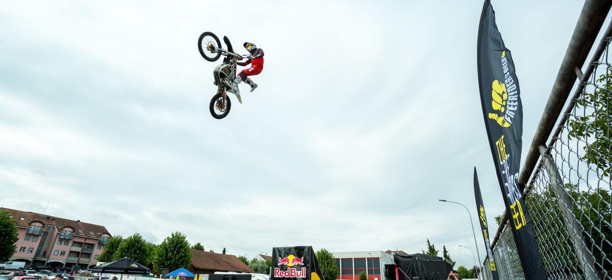 Mat Rebeaud invente le Drive-In Freestyle