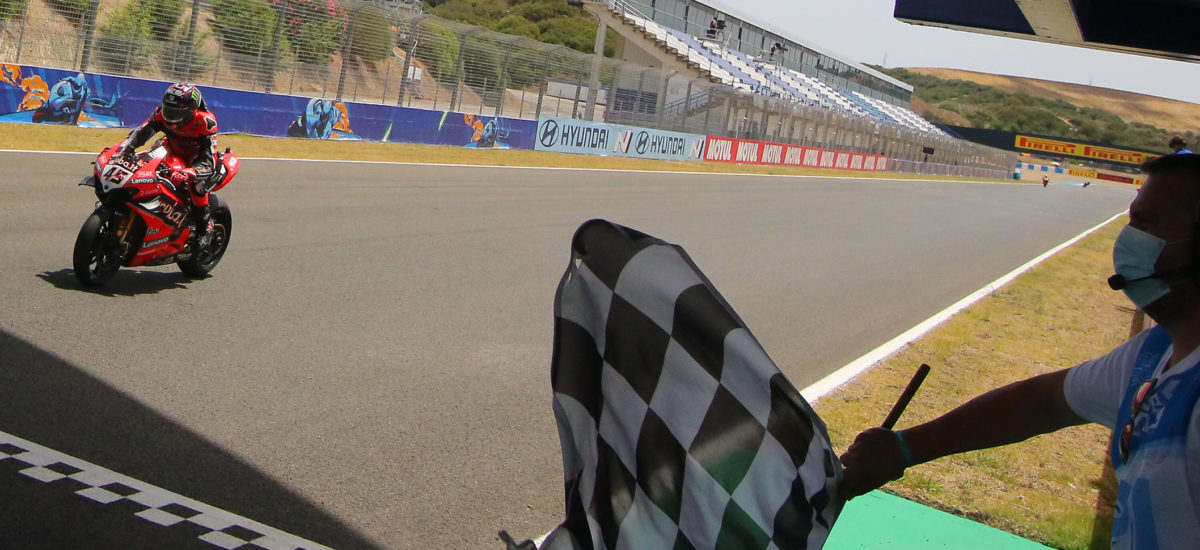 Bis de Scott Redding et doublé de Ducati en course 2