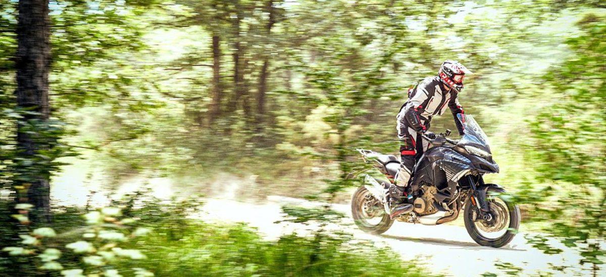 Une future Ducati Multistrada V4 mieux armée en tout-terrain