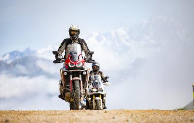 Trois jours sur les routes et pistes françaises avec Honda Suisse :: Touring à moto