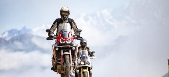 Trois jours sur les routes et pistes françaises avec Honda Suisse