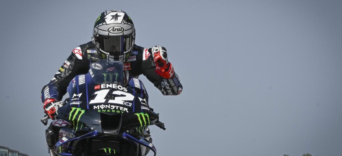 Domination des Yamaha, qui raflent les 4 premières places sur la grille