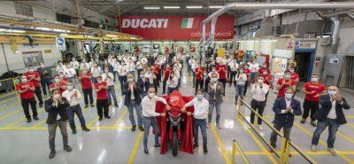 Nouvelle Ducati Multistrada V4 – Un «nouveau» V4 et des radars embarqués :: Nouveauté 2021