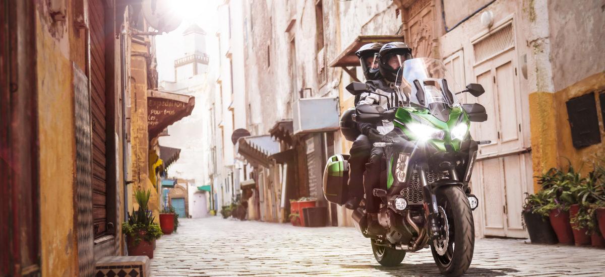 De nouvelles suspensions pour la Kawasaki Versys 1000 SE