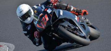 Randy Krummenacher est remonté sur une moto à Misano