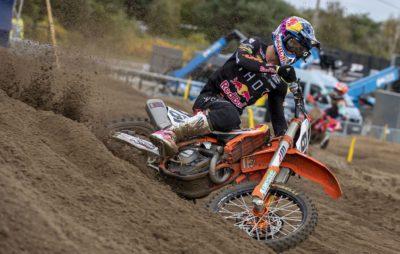 Jorge Prado remporte Lommel numéro 2 devant Gajser :: MXGP 2020