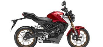 Une Honda CB125R plus puissante et mieux suspendue