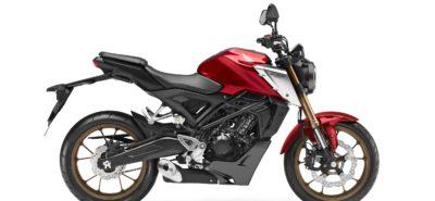 Une Honda CB125R plus puissante et mieux suspendue :: Nouveauté 2021