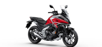 La Honda NC750X gagne de la puissance et perd du poids