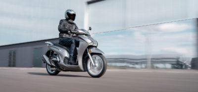 Honda gonfle le fer de lance de la famille des scooters SH :: Nouveauté 2021