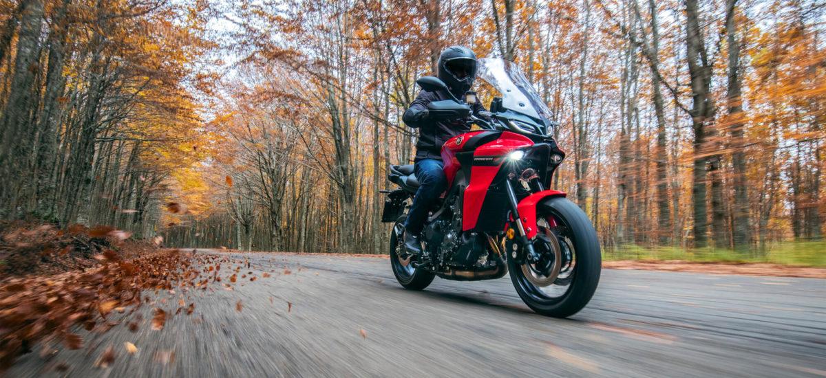 Yamaha présente des évolutions radicales sur les Tracer 9