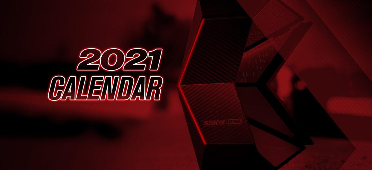 Le calendrier (provisoire) WorldSBK 2021 est sorti!