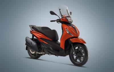 Piaggio change tout sur son célèbre Beverly :: Scooter roues hautes