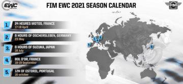 Cinq courses au programme de l'Endurance 2021