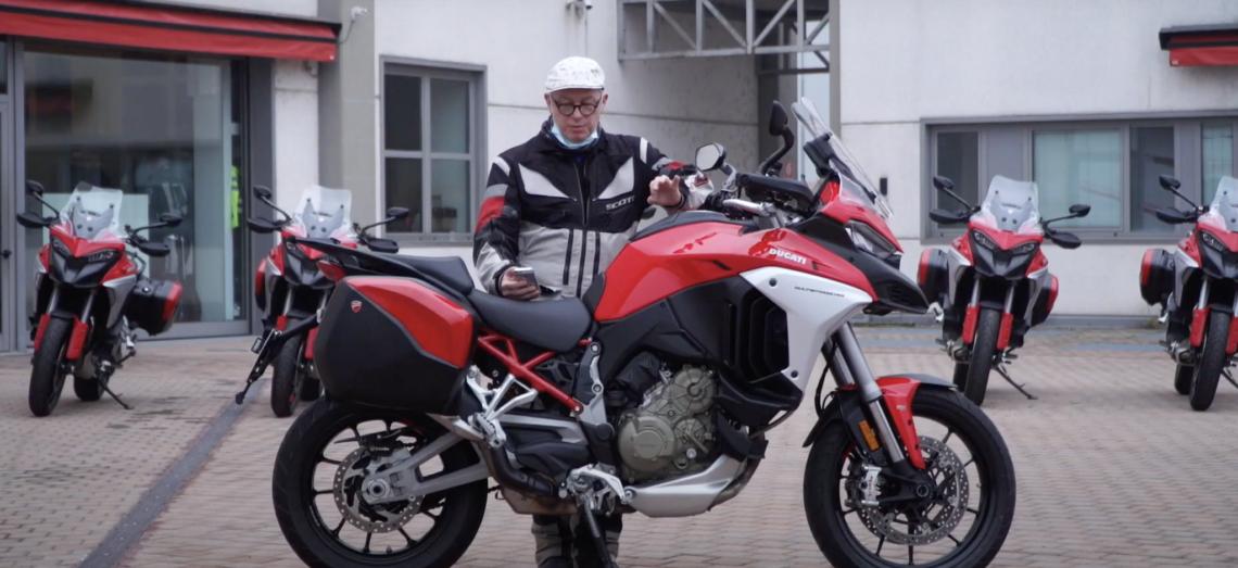 Notre test de la Ducati Multistrada V4 S