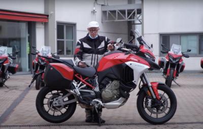 Notre test de la Ducati Multistrada V4 S :: Grand trail de voyage