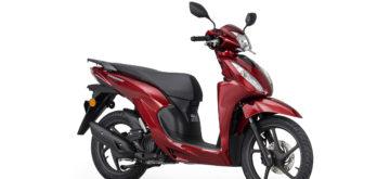 Le Honda Vision 110 fait peau neuve pour 2021