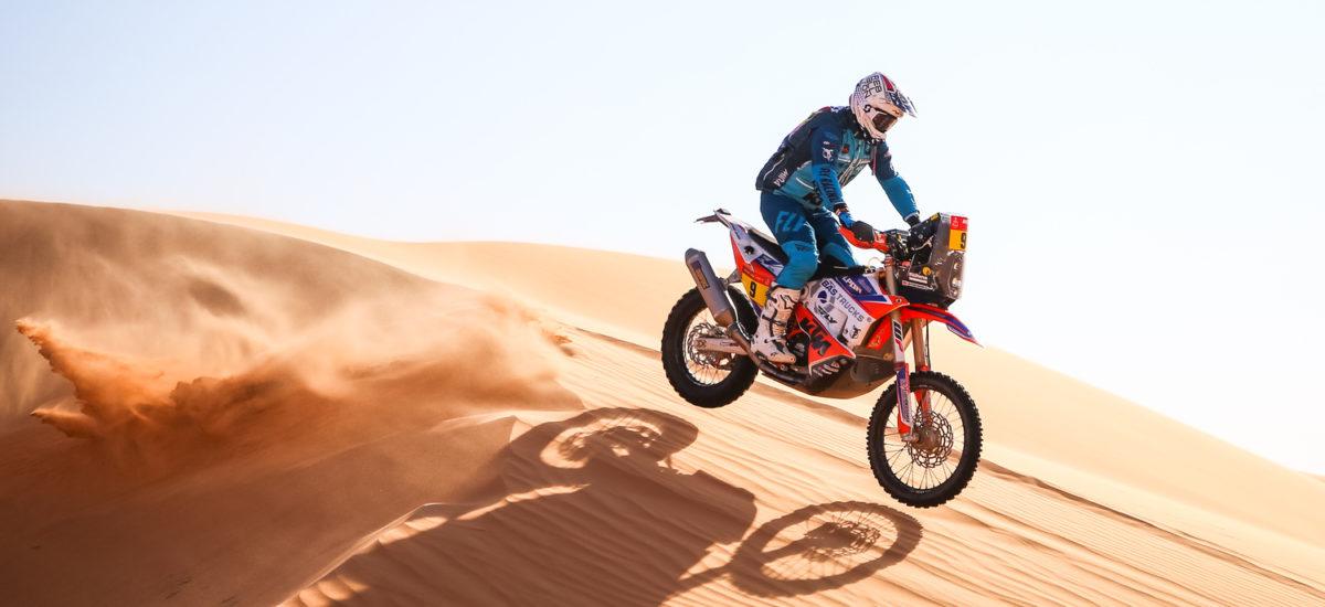 Dakar 2021 – 3ème étape: la victoire pour Toby Price, l'américain Skyler Howes prend la tête de la course.