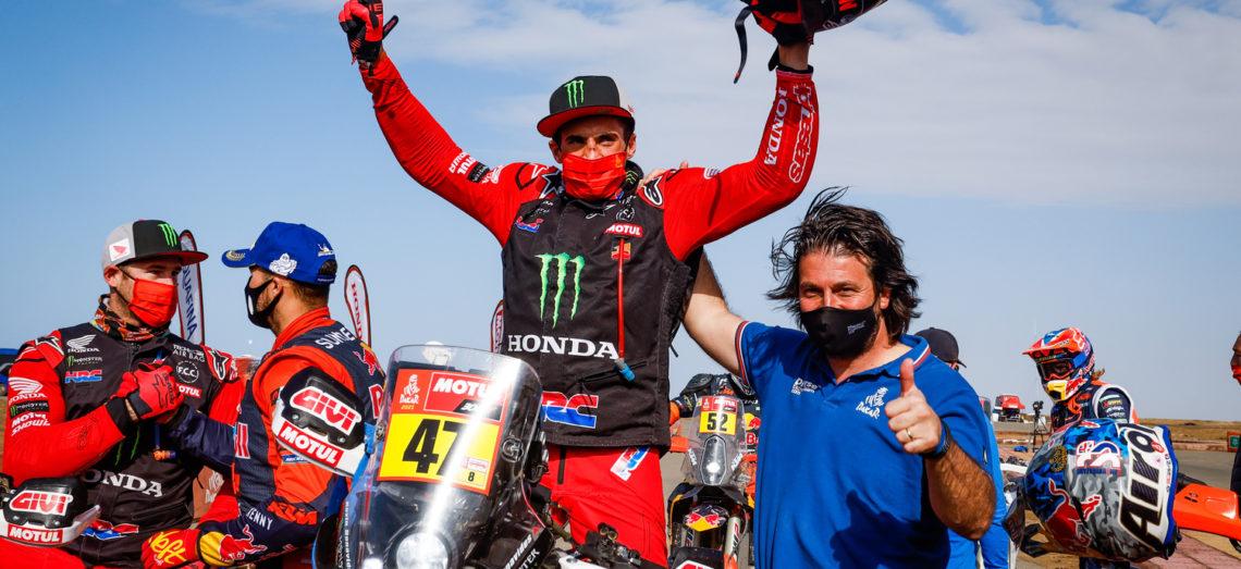 Doublé Honda: Kevin Benavides remporte le 43ème Dakar, devant Ricky Brabec