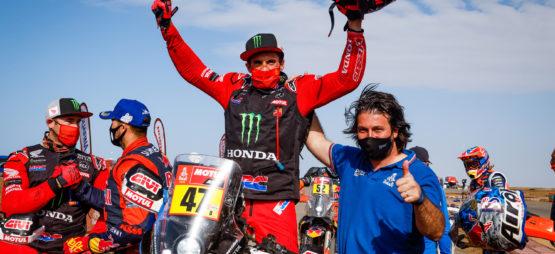 Doublé Honda : Kevin Benavides remporte le 43ème Dakar, devant Ricky Brabec