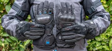 Trois gants chauffants à l'essai chez Ixon, Five et Klan-E