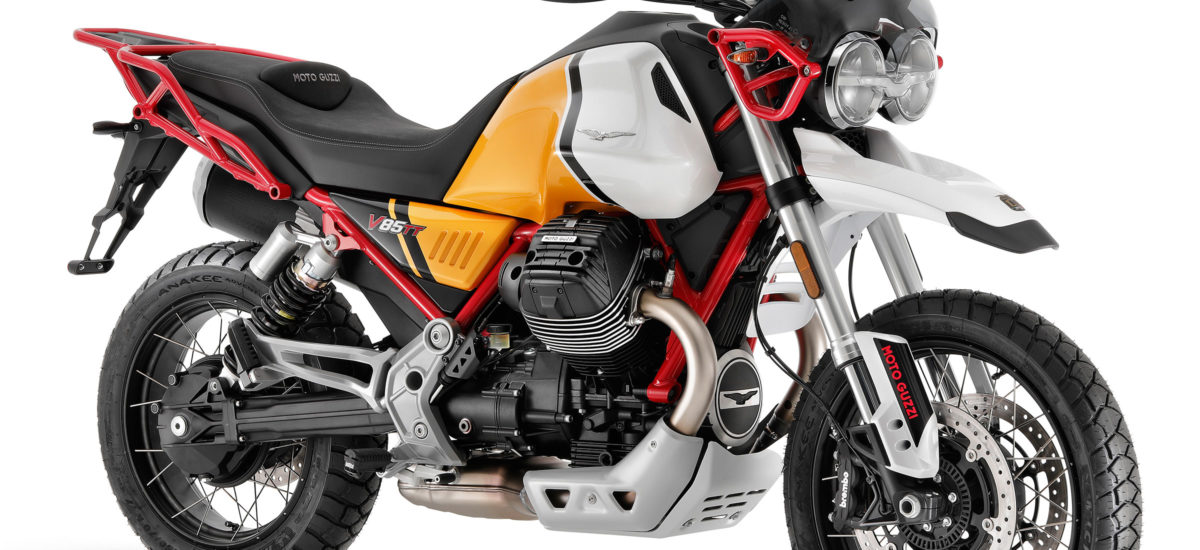 Moto Guzzi fête son siècle avec une mise à jour de la V85 TT