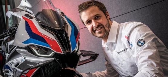 FVP moto et BMW proposent de rouler avec Tom Lüthi